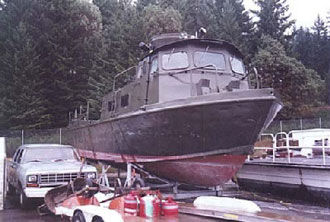 Pcf 104 restoration for Outboard motor salvage yard